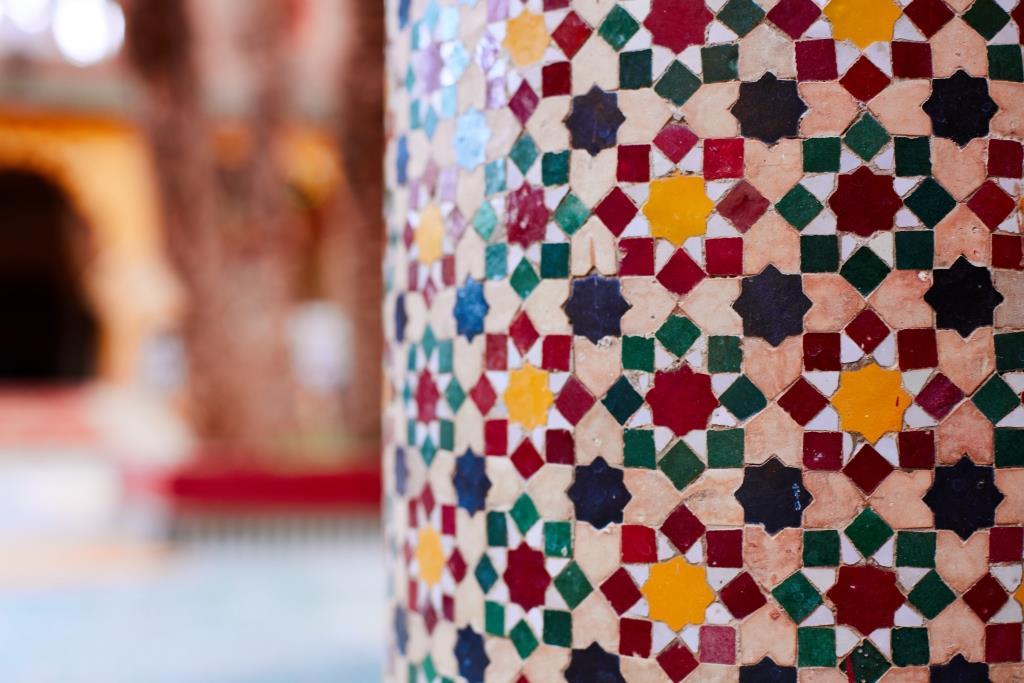 Marrokkanisches Mosaik